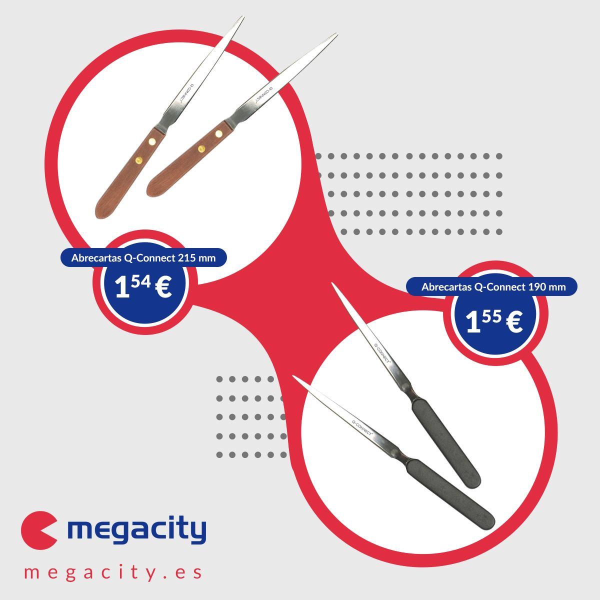 Descubrir los diferentes usos de los abrecartas de Megacity