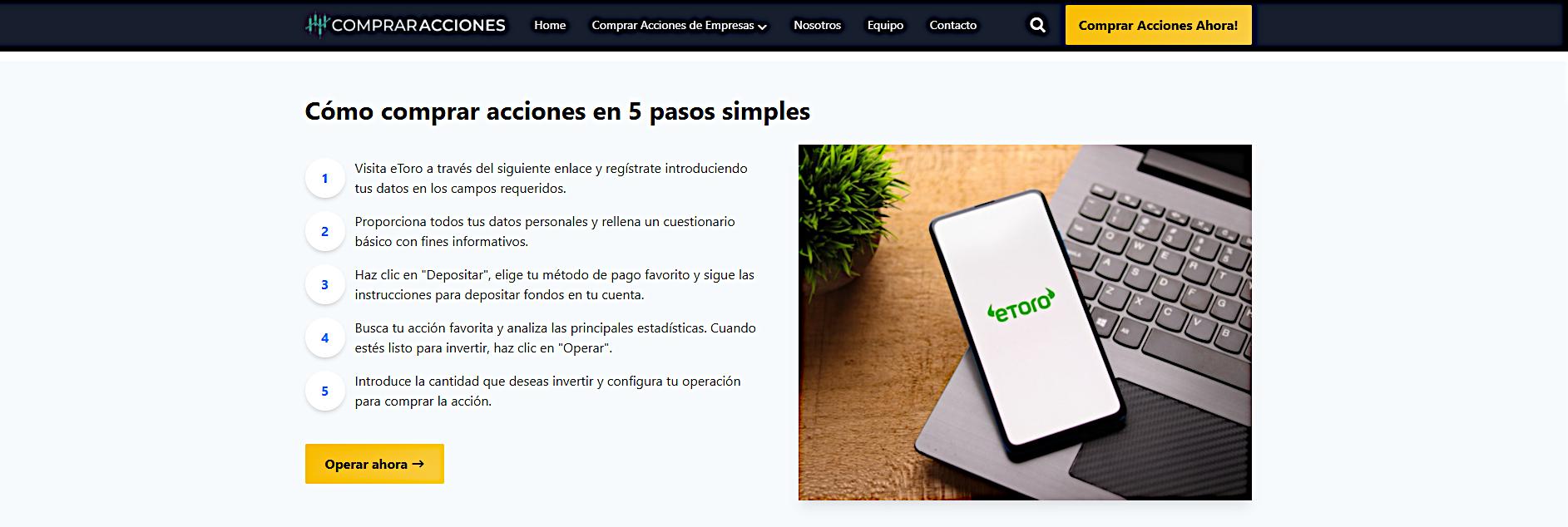 Investoo Group se dirige a los inversores españoles con páginas web educativas sobre trading de acciones