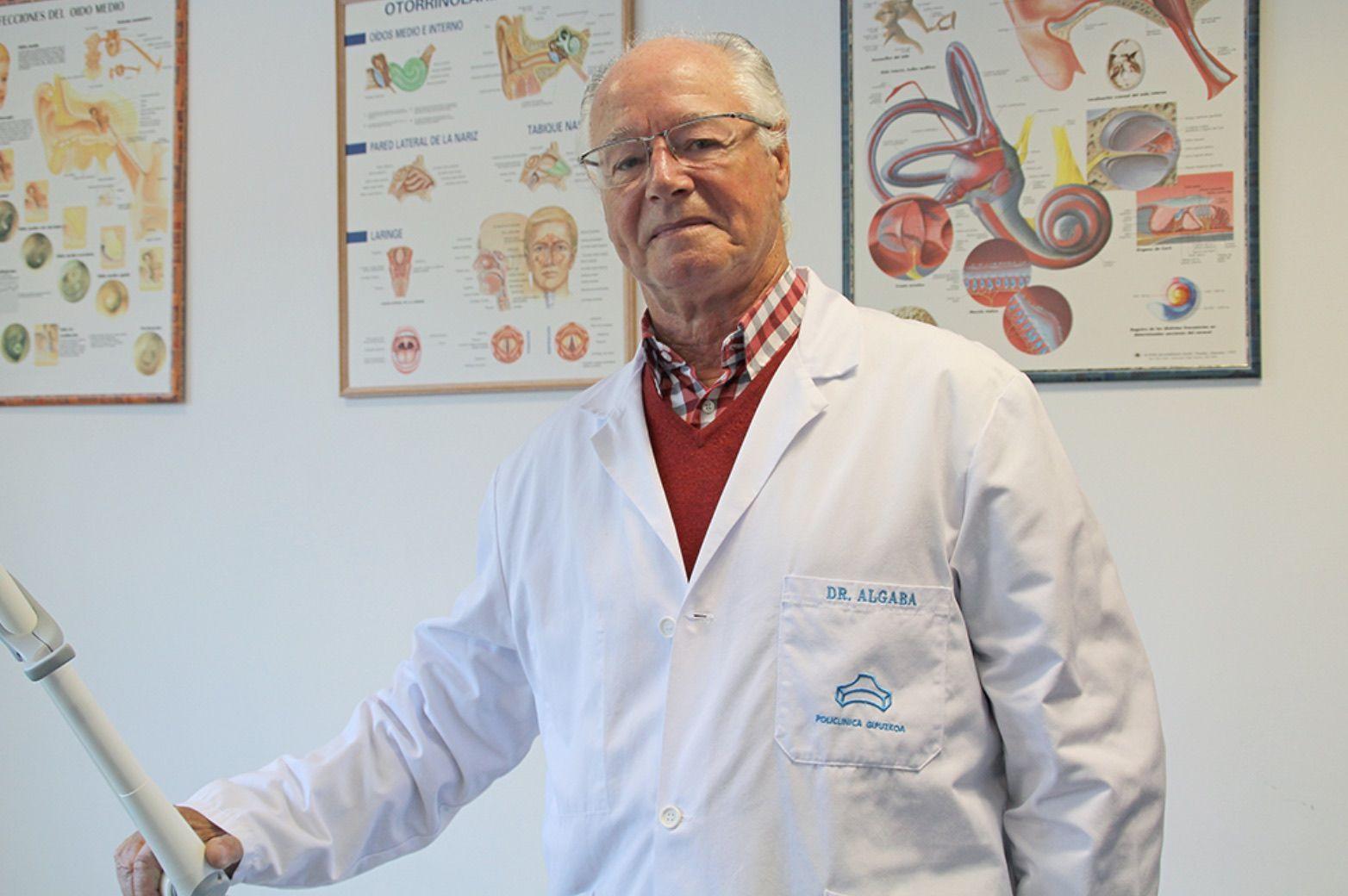 Jesús Algaba, uno de los profesionales sanitarios que personalizará mañana el acto homenaje a fallecidos