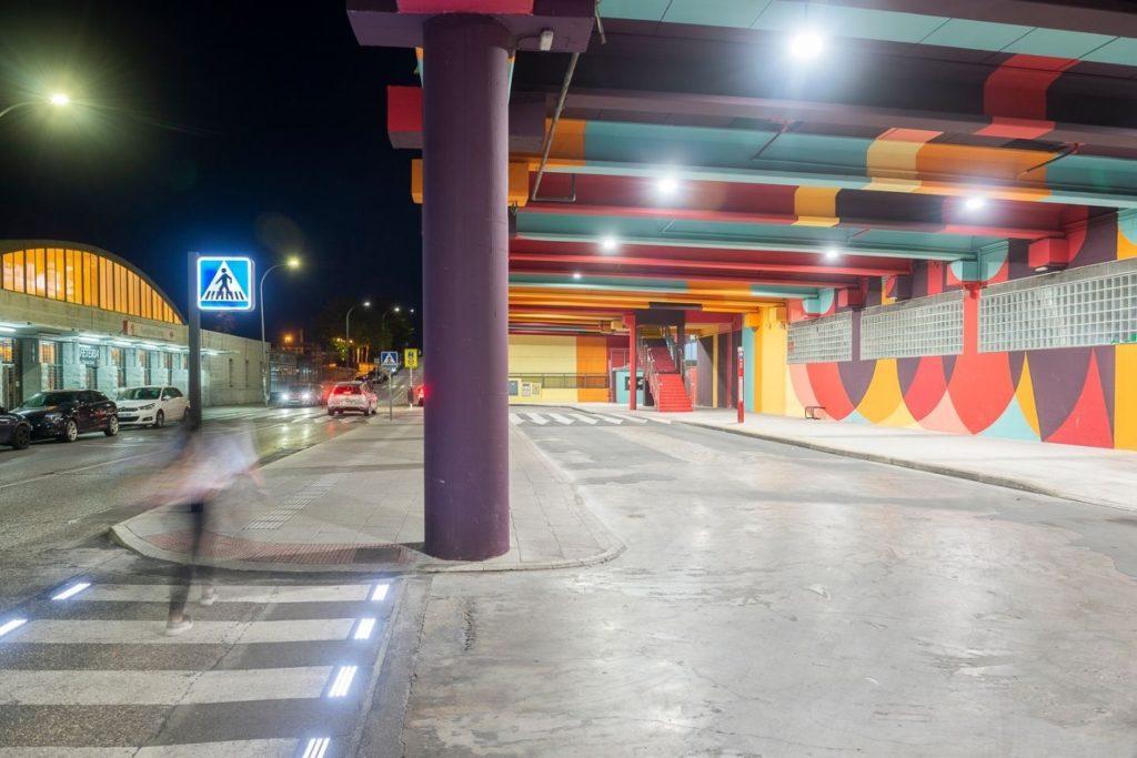 Foto de Schréder_INDU BAY_Aparcamiento Paseo de Roma Fuenlabrada 1
