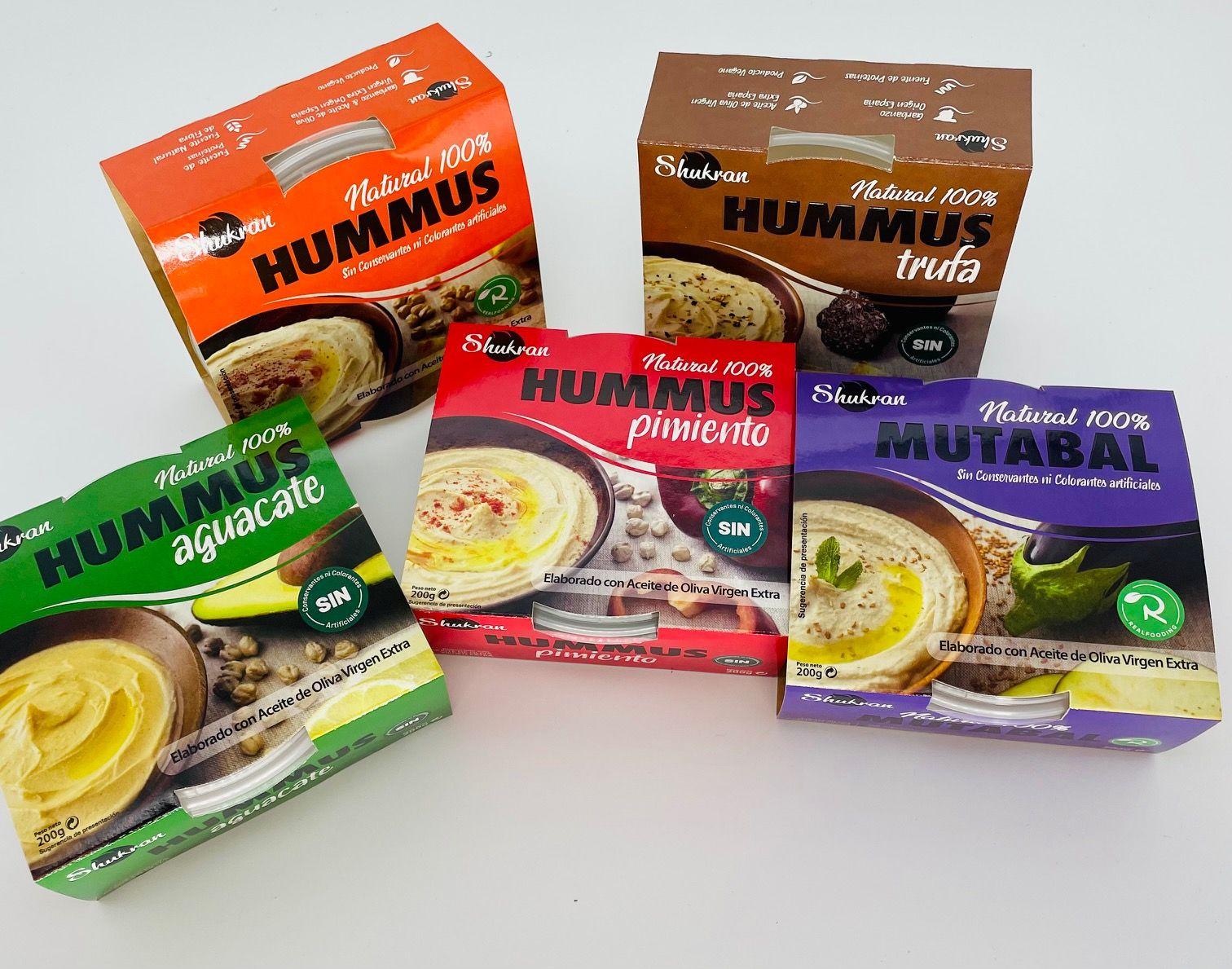 Shukran Foods se posiciona como la marca con mayor tasa de crecimiento en la categoría de Hummus y Mutabal