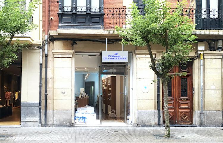 Frinsa traslada su tienda de Bilbao