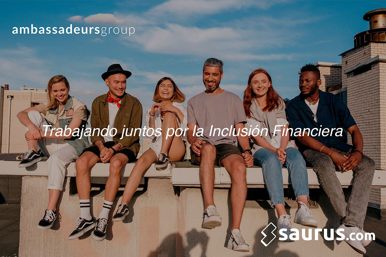 La fintech Saurus.com se asocia con el Ambassadeurs Group