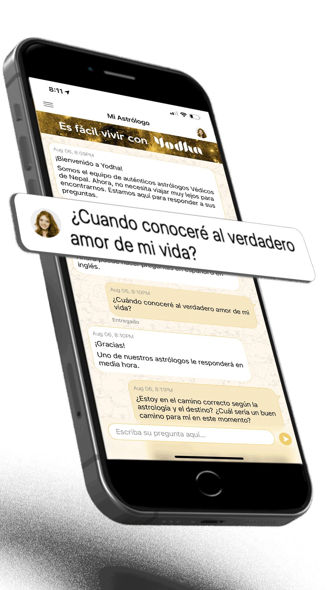 Yodha inició la versión en español de la aplicación astrológica