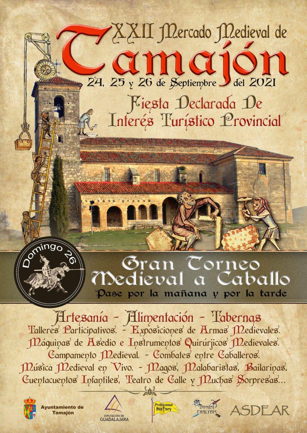 Foto de El Mercado Medieval vuelve a Tamajón en la que será su