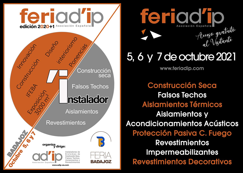 FERIAD'IP edición 2020+1, suma más presencia en IFEBA