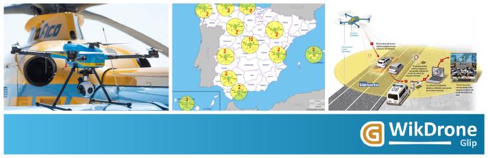 La DGT destina la mayoría de sus Drones a sobrevolar Madrid buscando infracciones de tráfico según WikDrone