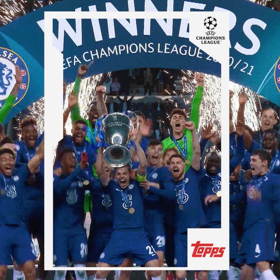 Topps se convierte en el socio único para competiciones de la UEFA de toda Europa