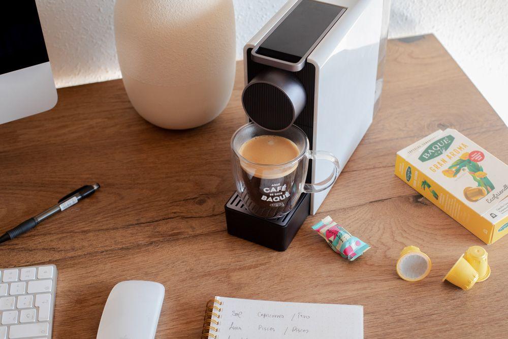 Una vuelta a la oficina más eco-responsable con Cafés Baqué como gran aliado