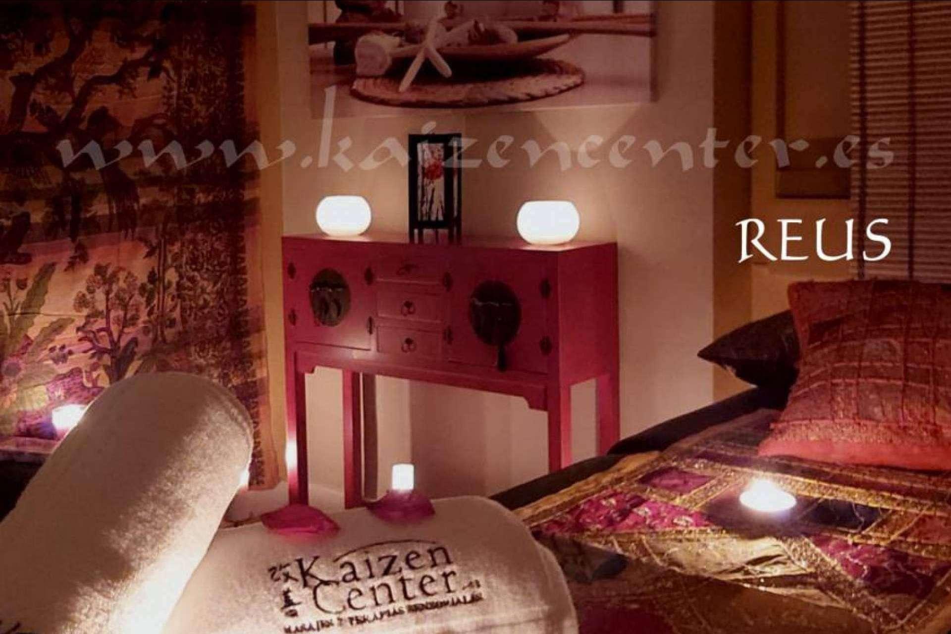 El centro de masajes relajantes en Reus de Kaizen Center