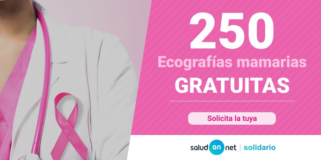 250 ecografías mamarias gratuitas para ayudar en la prevención del cáncer de mama
