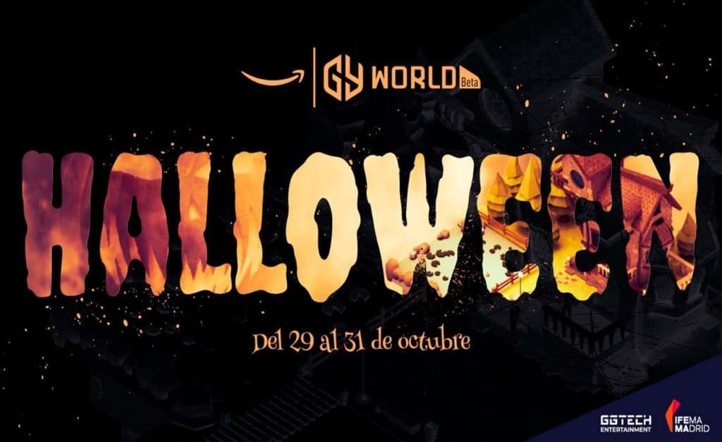 Amazon GAMERGY World celebra Halloween con un evento cargado de contenidos y secretos terroríficos