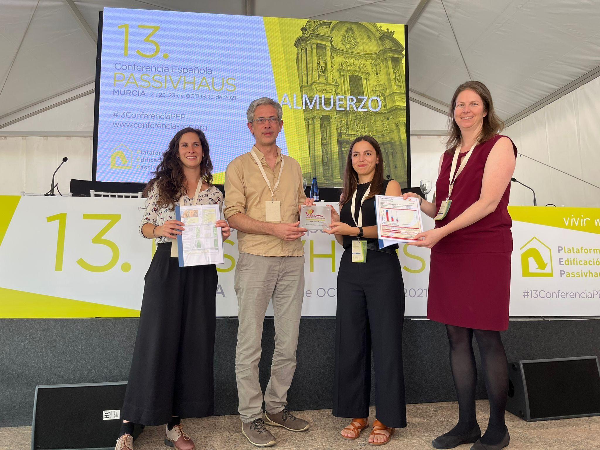 Energiehaus recibe la precertificación EnerPhit por la primera Casa Pasiva en Barcelona