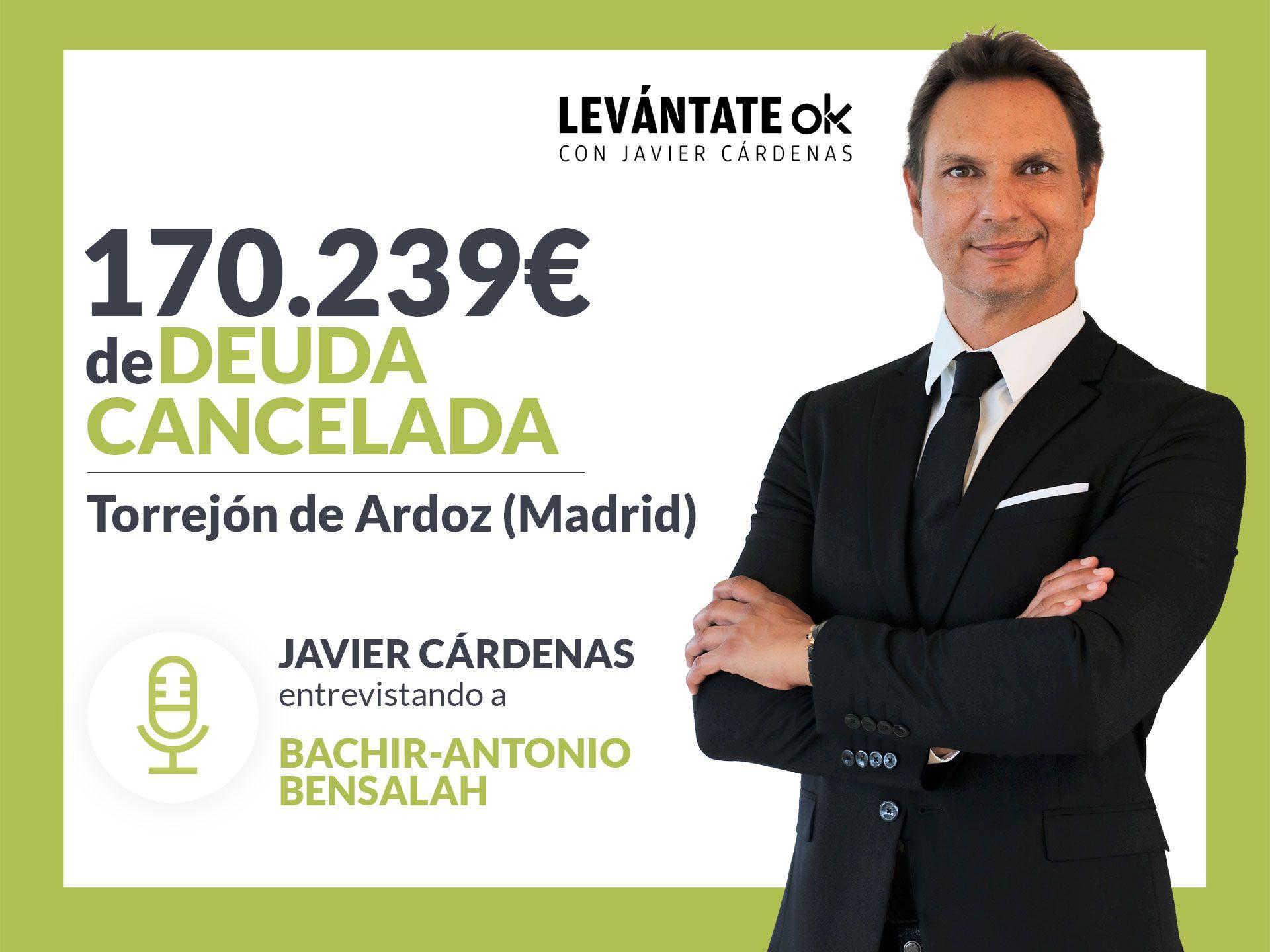 Javier Cárdenas entrevista a un cliente de Repara tu Deuda, líderes en la Ley de la Segunda Oportunidad