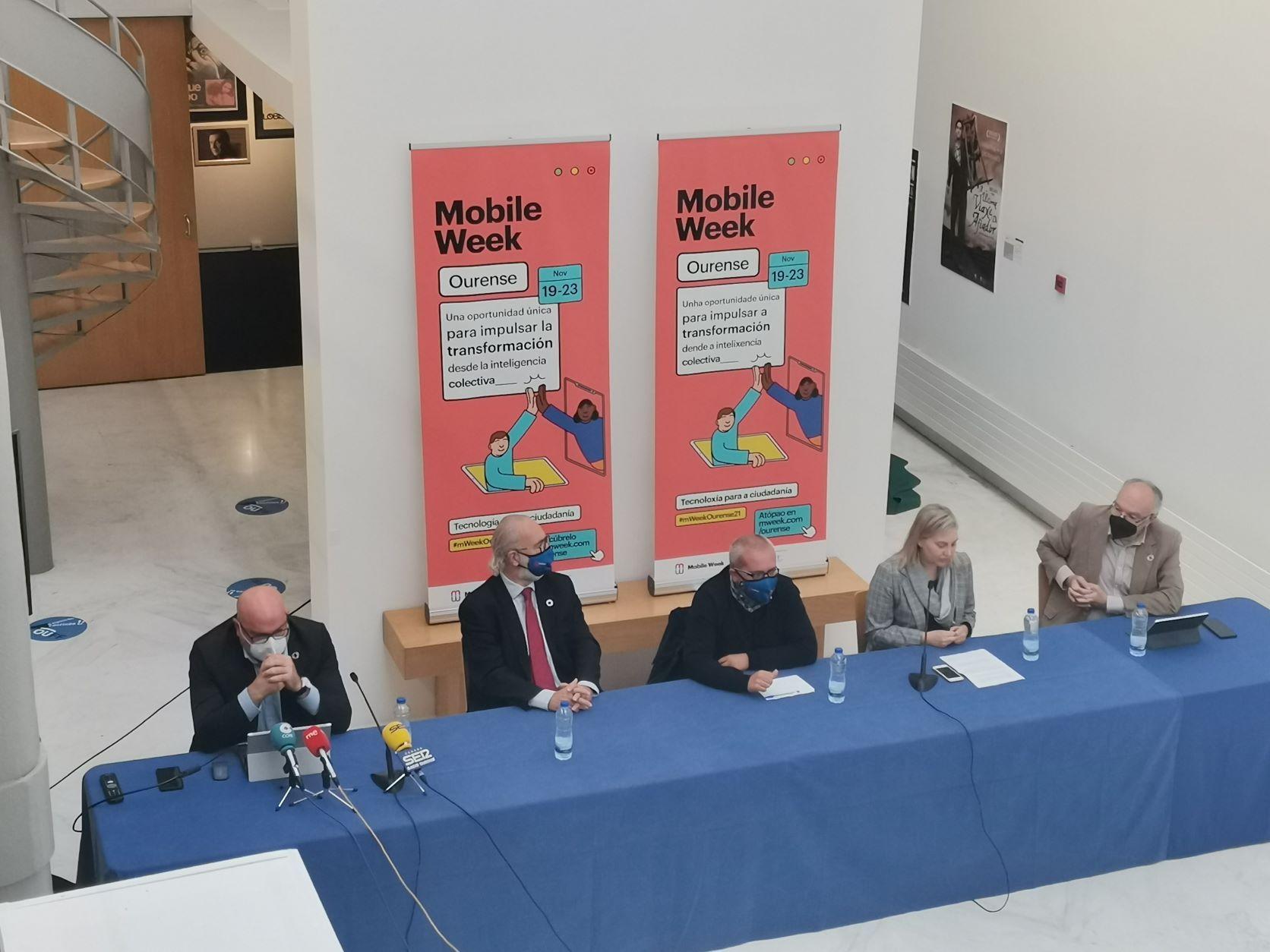 La Mobile Week Ourense acercará los beneficios de la revolución tecnológica a la ciudadanía