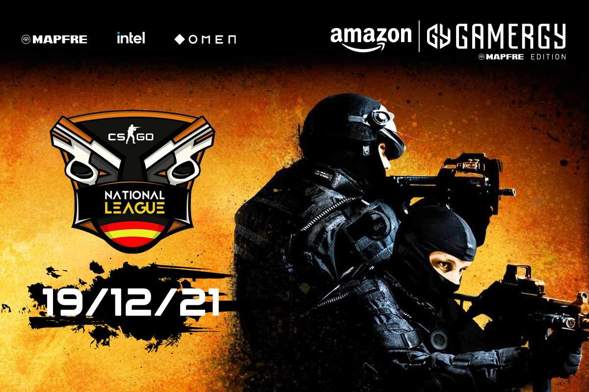 La final de la National League de CS:GO se celebrará en Amazon GAMERGY MAPFRE Edition