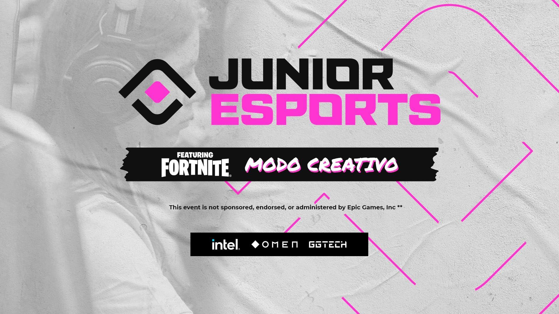 Los participantes de la 5º temporada diseñan juntos con JUNIOR Esports en Creative Mode Featuring Fortnite