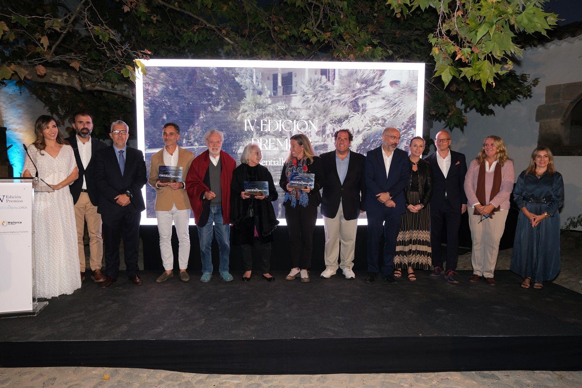 Paloma Lago presenta la gala de los premios del turismo de lujo en Mallorca de 2021