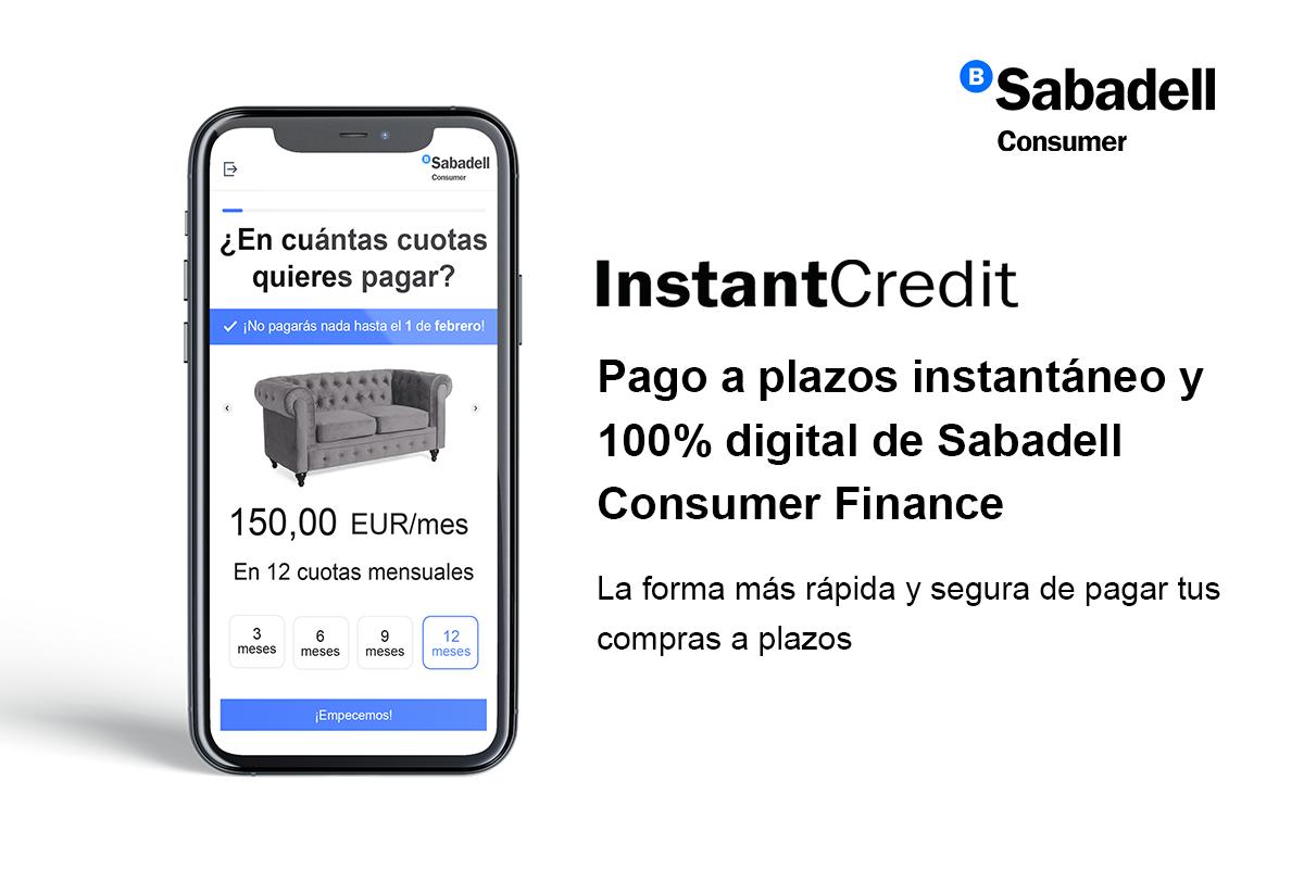 Sabadell Consumer Finance renueva la imagen de InstantCredit la confianza como elemento clave para el e-commerce