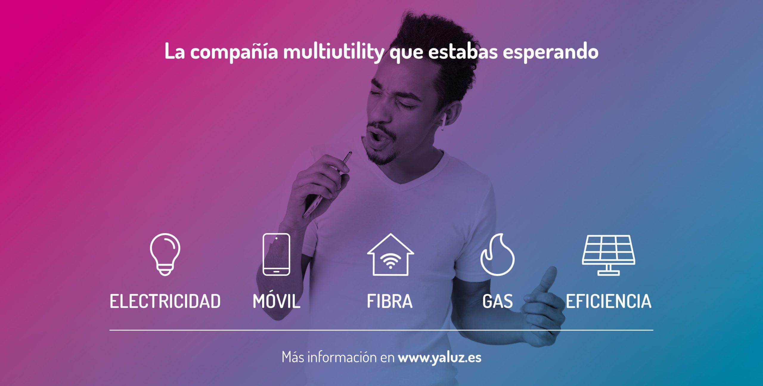 Yaluz! se convierte en compañía multiutility al integrar telecomunicaciones en su oferta